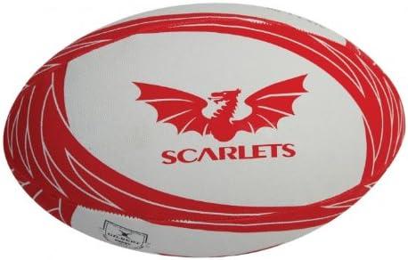 Balones de Rugby de Scarlets (Gilber) Tamaño Mini 1: Amazon.es ...