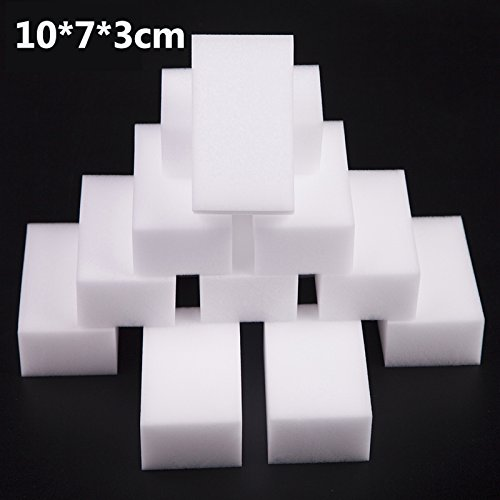 12pk Extra Thick Extra Large Magic Eraser Melamine Sponge - Multi Purpose All Surface Stain Removing 10x7x3cm