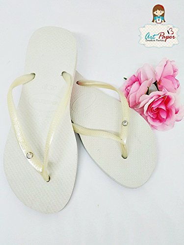 592b2db8b140ed Image Unavailable. Image not available for. Color  Crystal Havaianas