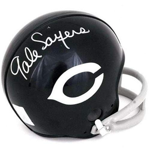 hed Signed Auto Chicago Bears Throwback Mini Helmet JSA - Certified Authentic ()
