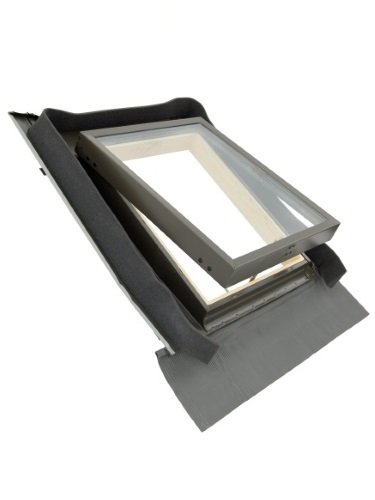 45 x 55cm Deluxe Skylight Access Roof Window with flashing Kit & Apron by BPS Access (Deluxe Flashing Kit)