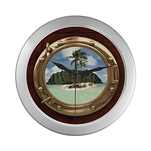 C COABALLA Hawaiian Decorations Simple Silver Color ()