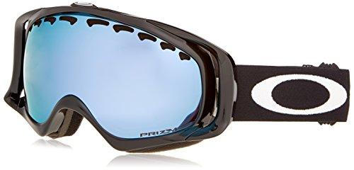 Oakley OO7005N-35 Crowbar Eyewear, Jet Black, Prizm Sapphire Iridium - Oakley Goggles Iridium Black