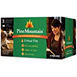 Pine Mountain 3-Hour Firelogs, 6-Pack , Proprietary Time-Release Technology.