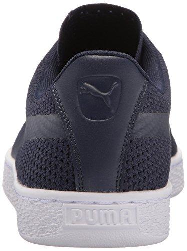 Classic Peacoat puma White Fashion PUMA Basket Evoknit Sneaker 6qAwPcHzx