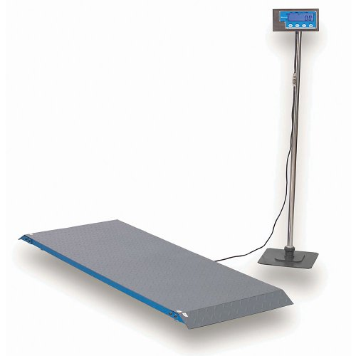 Brecknell Low-Profile Floor Scale - 1000 Lb./454 Kg. Capacity by Brecknell