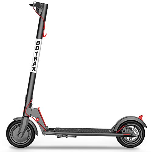 "GOTRAX GXL V2 Commuting Electric Scooter - 8.5"" Air Filled Tires - 15.5MPH & 9-12 Mile Range - Version 2"