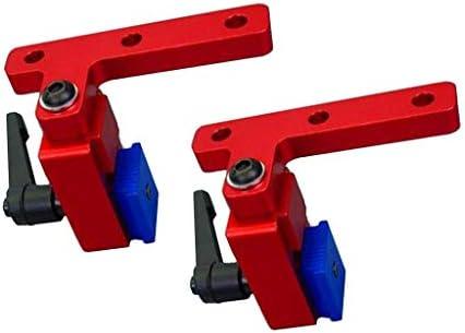 マイタートラックストップ DIY 木工ツール T-スロット T-トラック用 2個入り 耐久性
