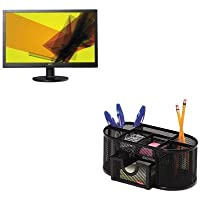 KITAOCE2260SWDAROL1746466 - Value Kit - Ingram Micro 60SWD-Series Widescreen LED Monitor (AOCE2260SWDA) and Rolodex Mesh Pencil Cup Organizer (ROL1746466)