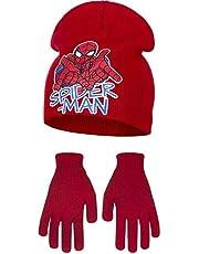 Marvel Ultimate Spider-Man Childrens Boys Web Slinging Hat And Gloves Set