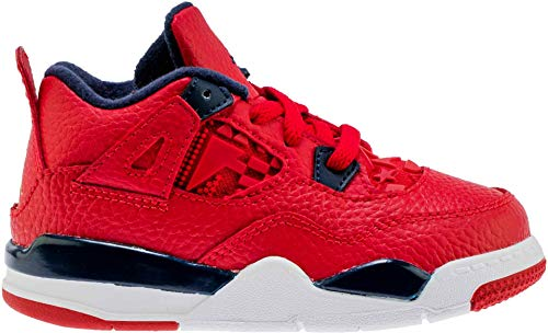 "Jordan Retro 4""FIBA Gym Red/Obsidian-White"