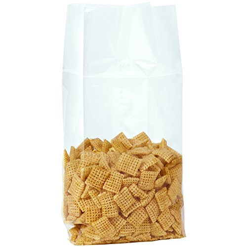 2 Mil Gusseted Poly Bags - Aviditi PBG118 Gusseted Polypropylene Bags 1.5 Mil, 4