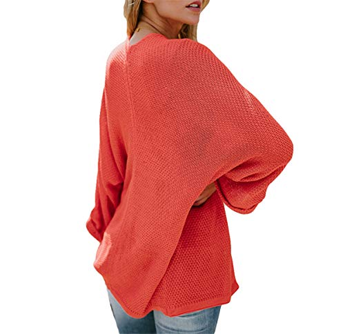 Lilas Violet Orange XL Hippolo Femme Pull qtWzAA8