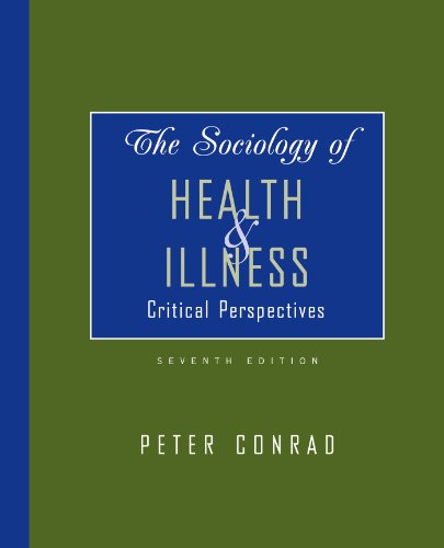 Sociology of Health & Illness