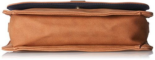 Bag Pcliede Cross Marron bandoulière Pieces Body Sacs Cognac t1wnqdOZx