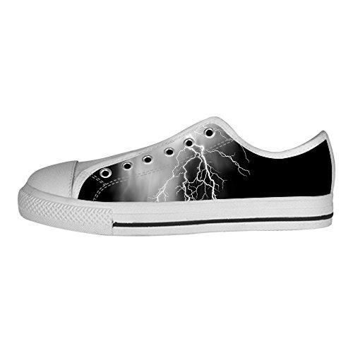 Di Delle Alto Custom Scarpe Illuminazione Tela Lacci In Le Canvas I Da Men's Sopra Ginnastica Shoes YfRY6q