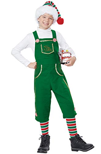Toymaker Elf, Boy - Child Costume