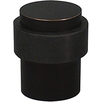 Inox Dsix02 10b Door Stop Oil Rubbed Bronze On Stainless