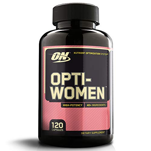 - OPTIMUM NUTRITION Opti-Women, Womens Daily Multivitamin Supplement with Iron, 120 Capsules