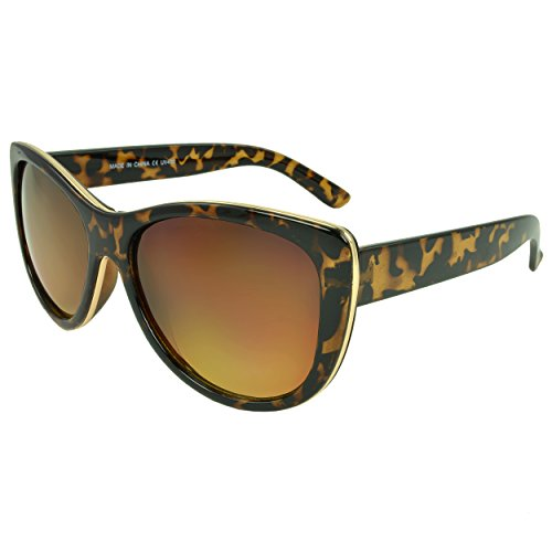 MLC EYEWEAR ® Adele Cat Eye Fashion Sunglasses, Brown - Jacobs Michael Sunglasses