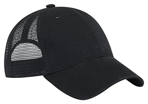 Otto Caps Superior Garment Washed Cotton Twill Mesh Back Caps/Trucker Caps