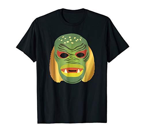 Swamp Monster Black Lagoon Mask t-shirt]()