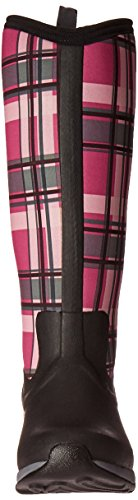 Muck Boot Women's Arctic Adventure Tall Snow Boot, Black/Pink Plaid, 10 US/10 M US by Muck Boot (Image #4)