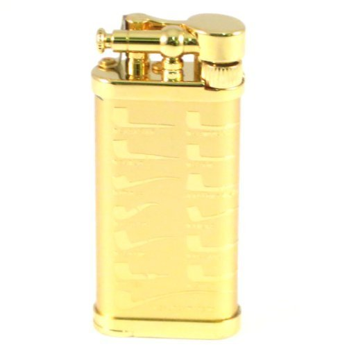 IM Corona Old Boy Gold Plate Pipe Shapes Pipe Lighter
