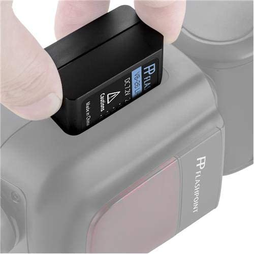 Flashpoint VC-26 USB Charger for The Zoom Li-ion X and Zoom Li-ion III Speedlight Flashes Battery