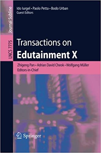 Transactions on Edutainment X (Lecture Notes in Computer