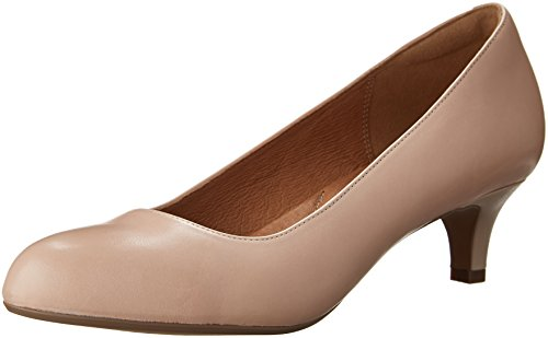 CLARKS Dress Nude Women's Shine Heavenly Pump Leather AwrAtHq