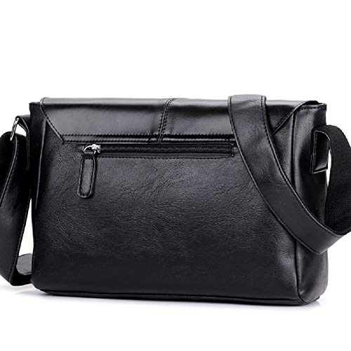 Business Notebook Bag Belt Laptop Scratch color Handbag Waterproof Easy Hhgold Care Messenger Shoulder Black Resistant Men Black Decoration 1vqdxOtwx