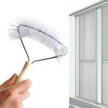 Screens Window Cleaning Brush Anti-Mosquito Net Brush Window Cleaner^.