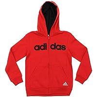 adidas Big Boys Youth Uptempo Full Zip Fleece Hoodie, Color Options