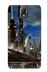 RAZTjPD221kuzSk New Premium Flip Case Cover Metropolis Skin Case For Galaxy Note 3 As Christmas's Gift