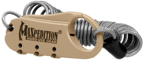 Maxpedition Gear Steel Cable Lock