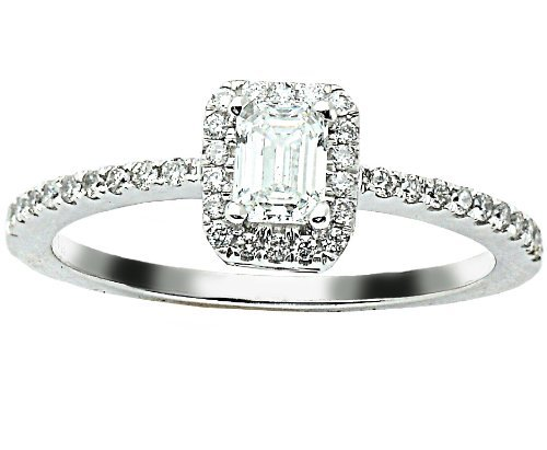 0.75 Ct Radiant Diamond - 7