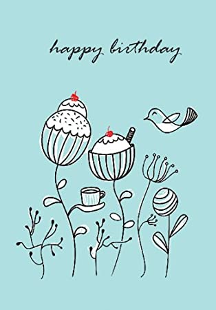 Birthday buns stylish happy birthday greeting card amazon birthday buns stylish happy birthday greeting card amazon kitchen home m4hsunfo