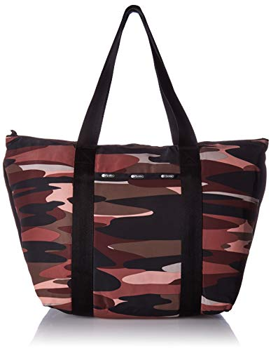 LeSportsac Travel Packable Large Tote, Rose camo t
