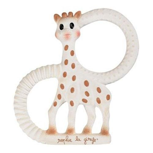 Vulli Products - Sophie The Giraffe Teething Ring - Gift Boxed! - 100% Natural rubber (Sophie Giraffe)