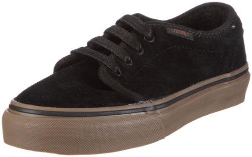 Vans 106 Vulcanised VKV3L7X - Zapatillas de ante para niños Negro