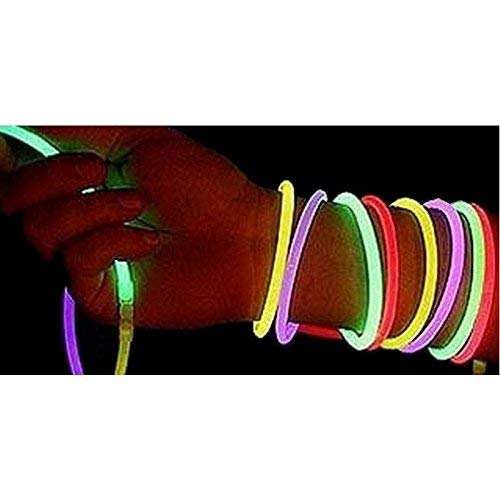 conception adroite nouvelle saison expédition de baisse Snner 100 Bracelets Lumineux - Assortis