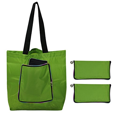 iwill CREATE PRO Wallet Style Folding Shopping Bags, Reusabl