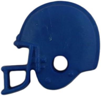 Purple Football Helmet Buttons Galore Shank Back 1524