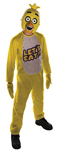 UHC Boy's Five Nights at Freddy's Chica Outfit Fancy Dress Child Costume, Child M (8-10) -