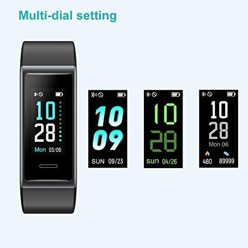 Willful Fitness Tracker 2020 New Version IP68 Waterproof, Fitness Watch Heart Rate Monitor with Calories/Step Counter Sleep Tracker Stopwatch Health Tracker Fit Watch for Men Women Kids 10