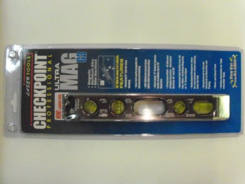 Checkpoint Ultra Mag G3 Professional Torpedo Level Platinum (# 300 ) Checkpoint Torpedo Level