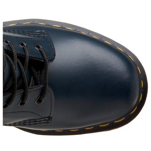 Dr. Mår Kvinners 1460 8-øye Patent Skinnstøvler, Marine Glatt Lær, 5 F (m) No / 7 B (m) Oss Kvinner / 6 D (m) Oss Menn