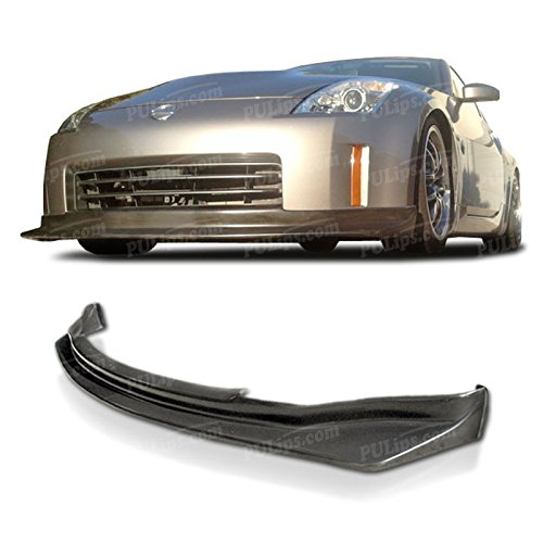 Lip Front Style Bumper - PULIps NS3506SPFAD - N1 Style Front Bumper Lip For Nissan 350z 2006-2009