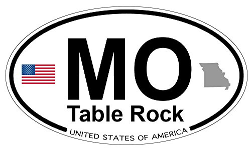 Table Rock, Missouri Oval Sticker for sale  Delivered anywhere in USA